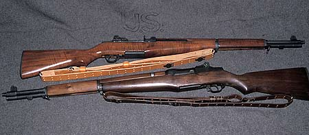 Photograph of a couple of vintage M1 Garands acquired from the CMP.